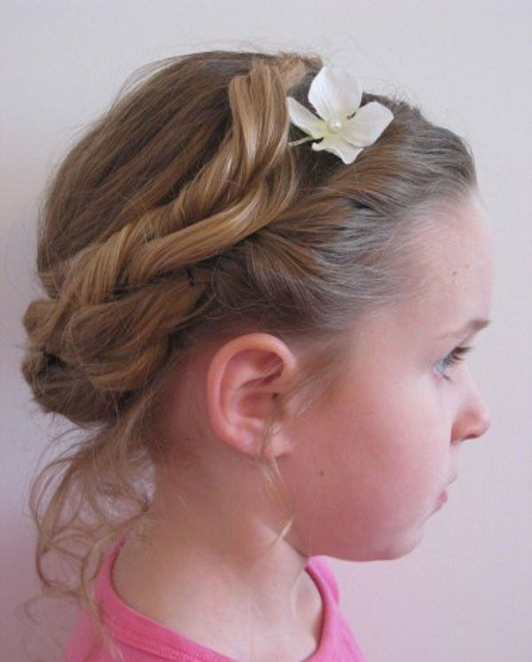 Best Girl Hair Styles Images On Pinterest Cute Hair - Hairstyle small girl