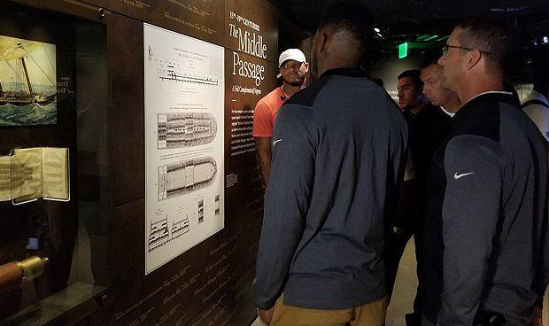 African American History Museum Trip Broadens Ravens' Understanding