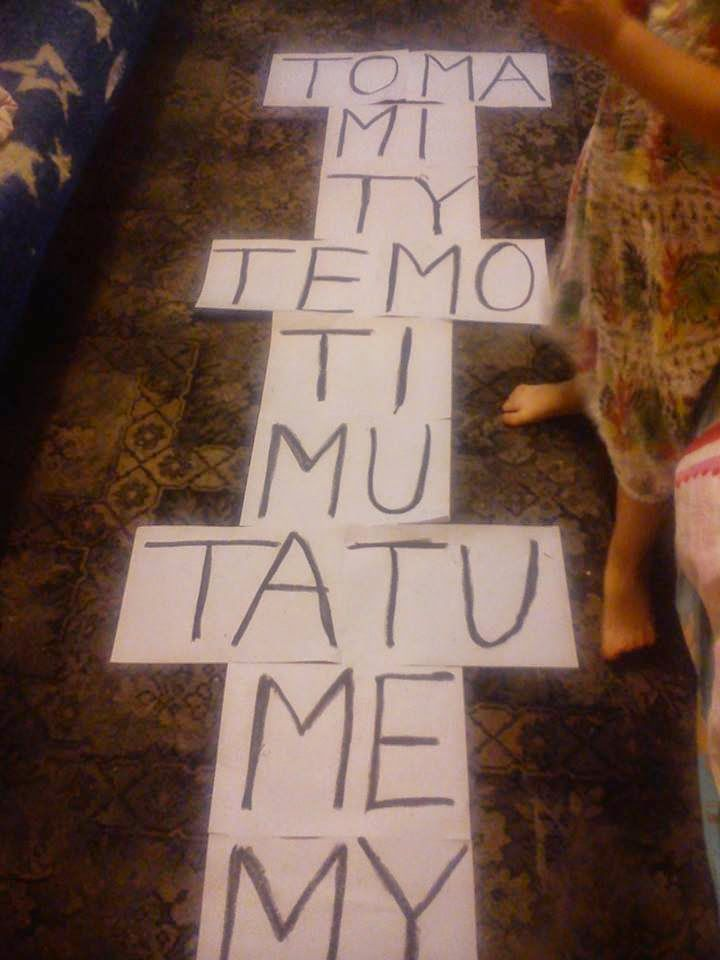 Mama  Misi i Tosi w świecie Afazji i Atopii: Ćwiczymy sylaby z M i T