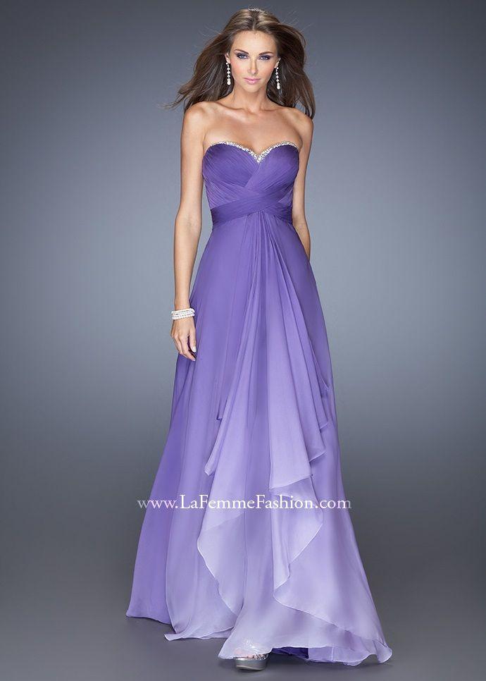 La Femme 19686 Ombre Evening Gown   @vanessa14space ⬅️