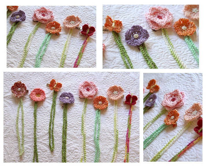 Crochet Pacifier Clips :): Idea, Pacifiers Holders, The Bays, Pacifiers Clips, Baby Girls, Crochet Flower Patterns, Crochet Pacifiers, Pacifier Clips, Crochet Items