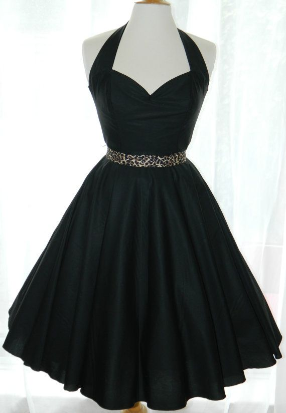 Vintage/50s/Rockabilly Hlater Style Dress by BadlyBehavedBetty, £80.00--- in blue or pink