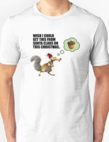 Wish I Could Get This From Santa Claus on This Christmas - Tshirts & Accessories T-Shirt