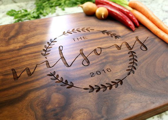 A personalized cutting board makes a gift that is both unique and functional. Add your personal touch by choosing a design that is…