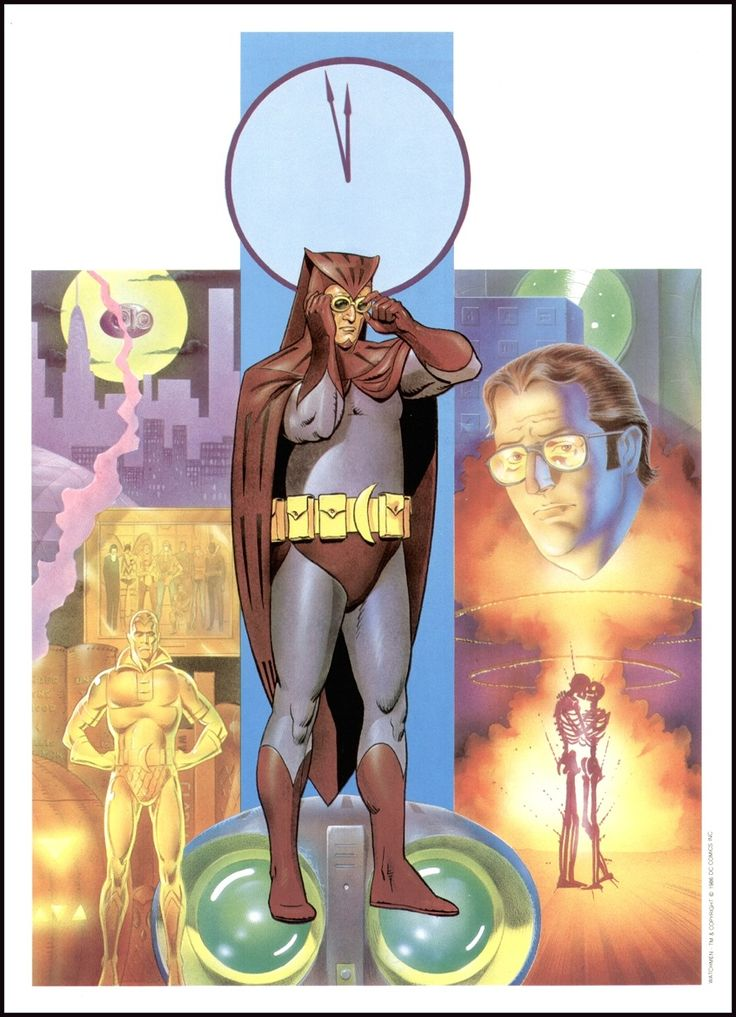 The Watchmen - Nite Owl by Dave Gibbons