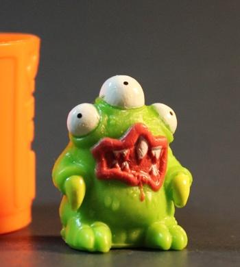 Three-eyed trash monster!Trash Monsters, Trash Pack, Three Ey Trash