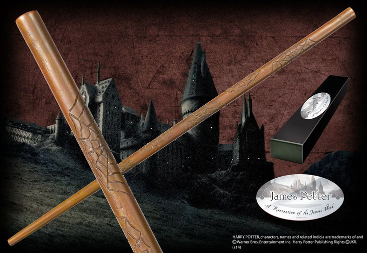 James Potter's Character Wand - The Noble Collection