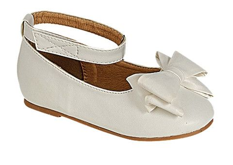 QQ Girl Stella Party Flat in White