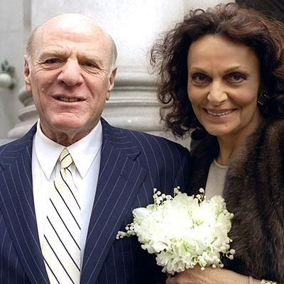 Barry Diller & Diane von Furstenberg from #InStyle BARRY DILLER & DIANE VON FURSTENBERG In 2000, the fashionable couple married in a small ceremony at New York's City Hall.
