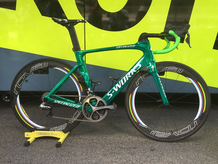 Peter Sagan's Specialized S-Works Venge ViAs