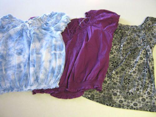 Womens Shirts L Large SS Short Sleeve American Eagle St Johns Bay FANG