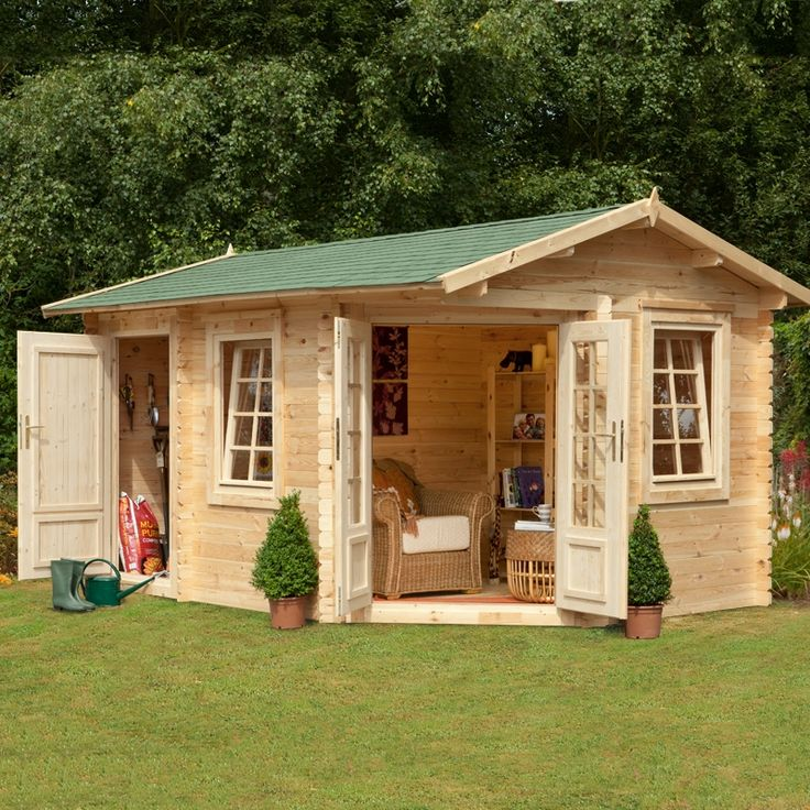 Home Gym In Shed: 31 Best Images About Potting Sheds On Pinterest