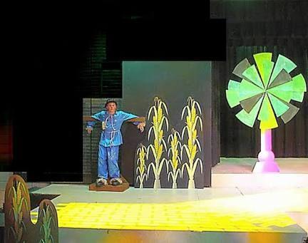 wizard of Oz stage design for children's theatre - Google Search