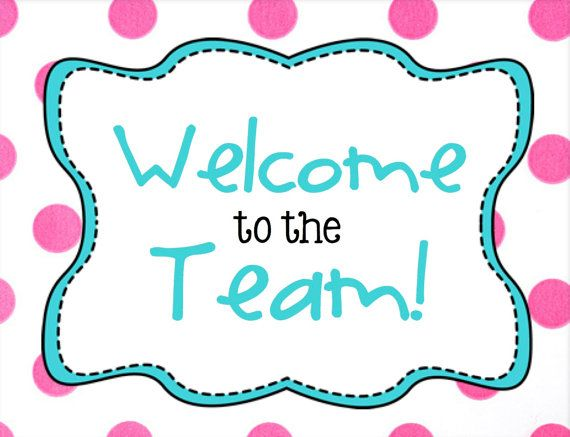 Welcome to the Team Postcard | The Team, Welcome To and Postcards