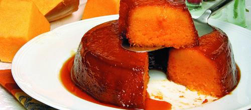 Receita de Pudim de abóbora. Descubra como cozinhar Pudim de abóbora de maneira prática e deliciosa com a Teleculinaria!