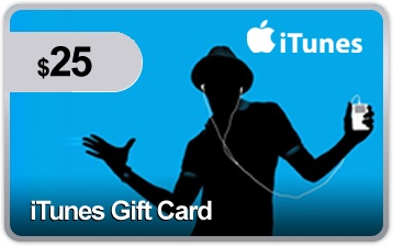 $25 iTunes Gift Card #pennyauction