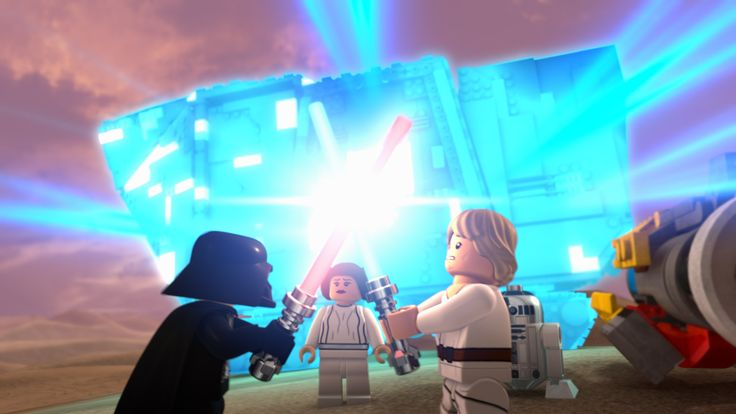 LEGO Star Wars: The New Yoda Chronicles - Luke versus Darth Vader