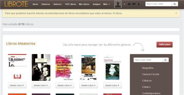 Librote, una nueva red social de Lectura en Español via wwwhatsnew.com