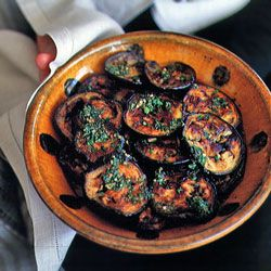 Eggplant Smothered with Charmoula Marinade Recipe   SAVEUR