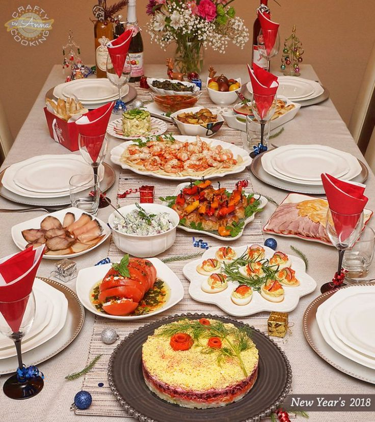 New Year's Dinner 2018! Delicious ideas for the Holidays