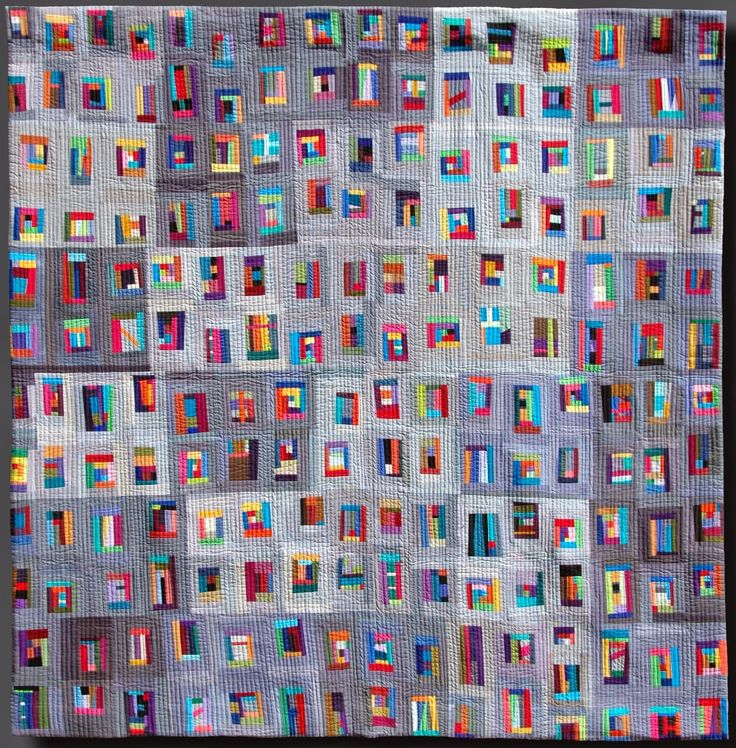 Off the Floor #1 by Gael O'Donnell. 2015 New Zealand Quilt Symposium. Photo by Don't Wait To Create.