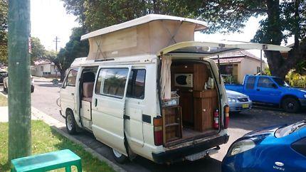 Toyota Hiace Poptop Campervan Turrella Rockdale Area Preview