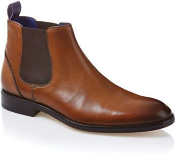 $250, Brown Leather Chelsea Boots: Ted Baker Camroon Leather Chelsea Boots. Sold by Lord