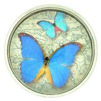 Blue Butterfly Glass Nugz