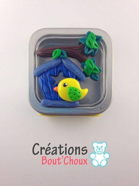 Petite boîte à dents à cheveux ou autres par Creationsboutchoux1