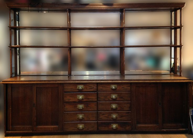 Edwardian ex Liberty Display Cabinet - For Sale £2000