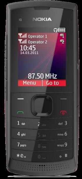 #Nokia X1-01