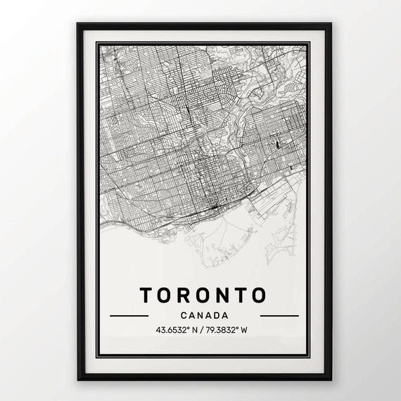 PLYMOUTH CITY MAP POSTER PRINT MODERN CONTEMPORARY CITIES TRAVEL IKEA FRAMES