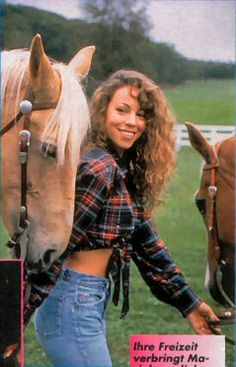mariah at her old ranch she shared with tommy mottola x ...