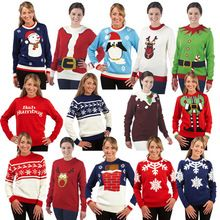 novelty christmas jumpers custom womens christmas jumpers , knited Christmas sweater wholesale  Best Buy follow this link http://shopingayo.space