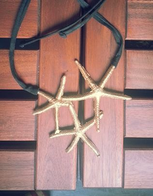 """Check out new work on my @Behance portfolio: """"Sea Stars necklace"""" http://on.be.net/1ccAYHT"""