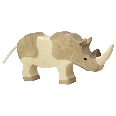 Wooden Rhinoceros