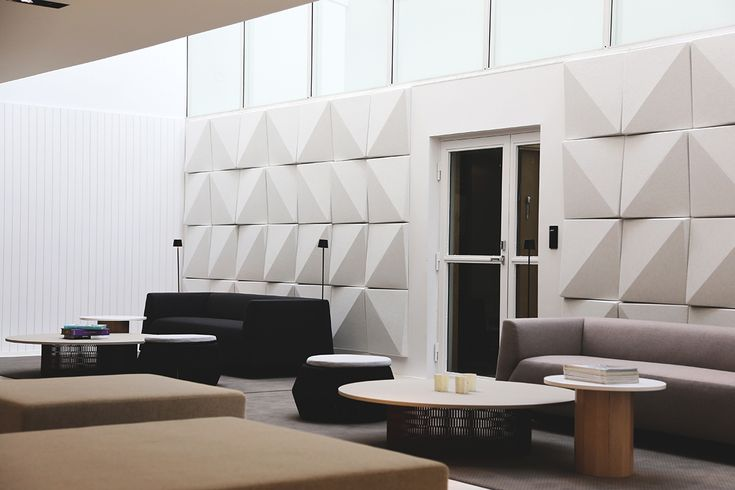 accoustic panels | Kettal Mesh and Karl Andersson&Söner Cap