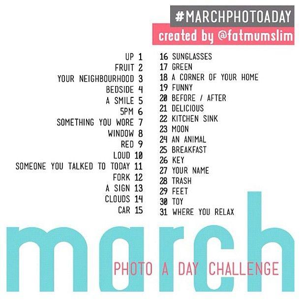 March 2013 challenge