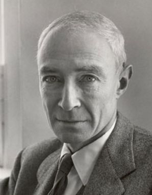 """J. Robert Oppenheimer (9w1 so/sx) - """"I believe that through discipline, though not through discipline alone, we can achieve serenity, and a certain small but precious measure of the freedom from the accidents of incarnation, and charity, and that detachment which preserves the world which it renounces."""" - Enneagram Type 9 Wing One"""