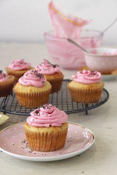 I Quit Sugar - Gluten-Free Yoghurt + Lemon Cupcake recipe.