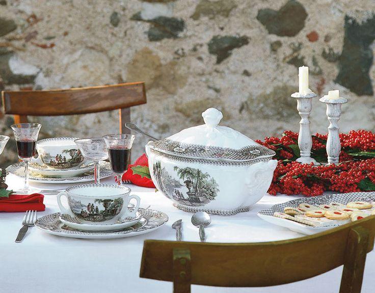 12 best images about vajillas la cartuja de sevilla on pinterest mesas natural and floral - Vajilla la cartuja ...