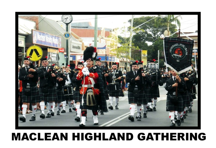 If you love anything Scottish, you must visit the Maclean Highland Gathering.