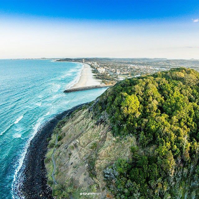 Burleigh Headlands by SnapAir 2015