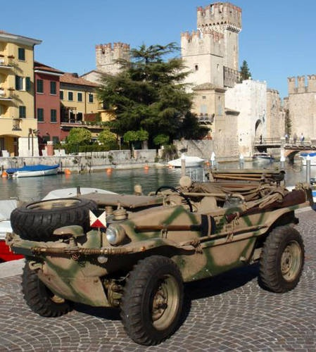 The most sought after VW Schwimmwagen typ 166 kubelwagen For Sale (1944) original and £125,000