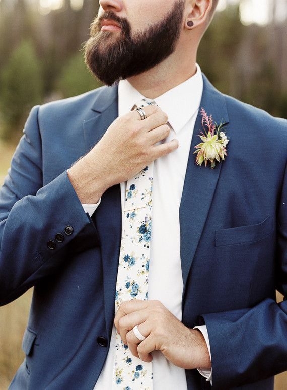 Floral tie | Wedding & Party Ideas | 100 Layer Cake