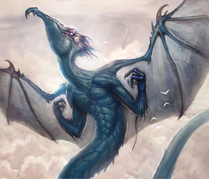 Cloud Dragon by mysticaldonkey1