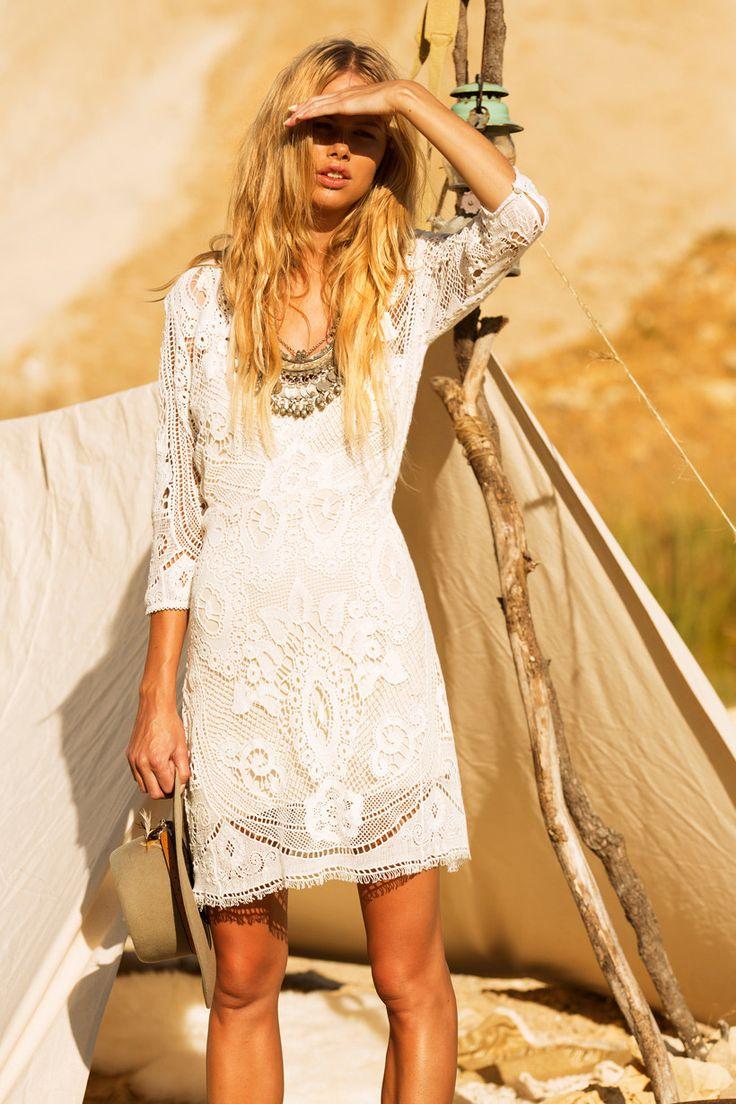SPELL - Woodstock Mini Dress