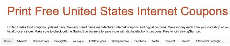 Print free United States Internet Coupons #coupons #coupon #internetcoupons #food #recipes #meat #produce #canfood #deli