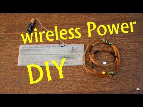 DIY Wireless Charger | wireless Power - YouTube