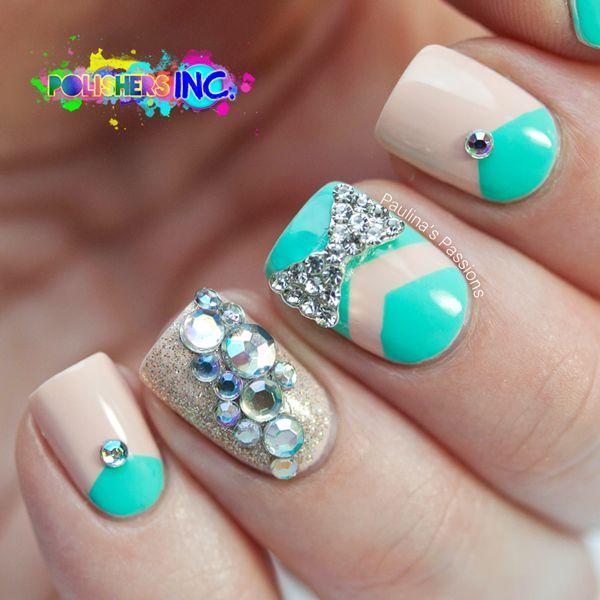 bling nails art